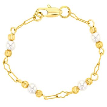 Shop Gold Bracelet For Girl on Wanelo