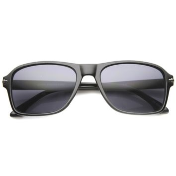 Men's Euro Rectangle Frame Fashion Sunglasses 9875
