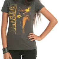Soundgarden Louder Than Love Faded Girls T-Shirt