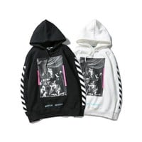 OFF WHITE Winter Hats Pullover Hoodies Jacket [11501026316]