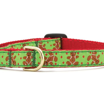 Up Country Gingerbread Man Cat Collar