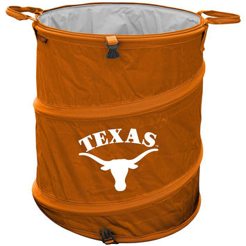 Texas Longhorns NCAA Collapsible Trash Can