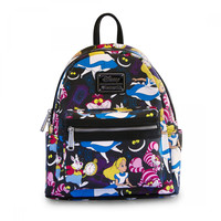Loungefly Disney animated classic Alice In Wonderland Mini Backpack