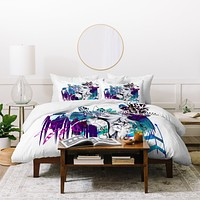 Holly Sharpe Tribal Girl Colourway Duvet Cover