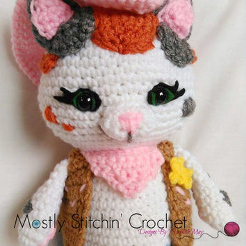 Sheriff Callie Inspired; CROCHET PATTERN; PDF