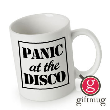 New Panic At The Disco Logo Ceramic Coffee Mugs