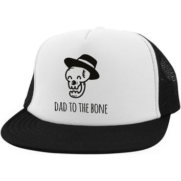 Dad to the Bone Hat Funny Dad Hats