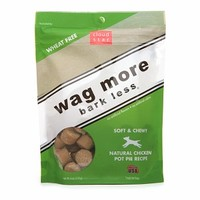 Cloud Star Wag More Bark Less Soft & Chewy Dog Treats, Chicken Pot Pie recipe