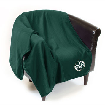NCAA Colorado State Rams Sweatshirt Throw