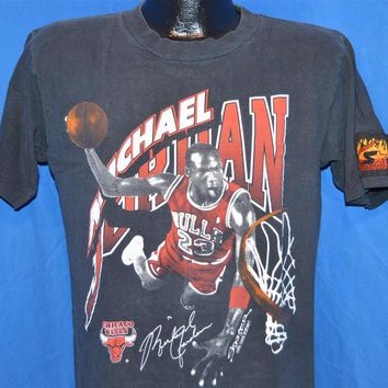 90s Chicago Bulls Michael Air Jordan Slam Dunk Starter t-shirt Medium