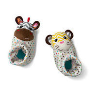 Infantino Foot Rattles (Colors/Styles Vary)