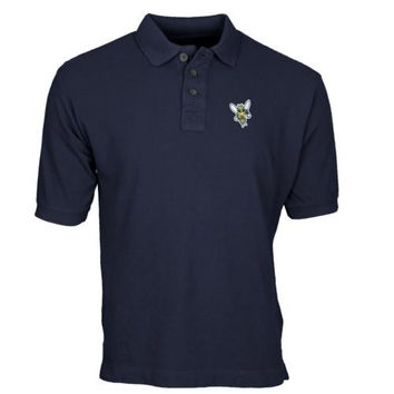 Rochester Yellow Jackets Team Mark Polo - Navy Blue