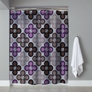 "Hot Best Seller Luxury Coach Purple Love Free Shipping Shower Curtain 60"" x 72"""