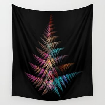 Christmas tree Wall Tapestry by jbjart