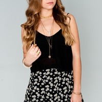 Show Me Your Mumu ~ Skater Mini Skirt ~ Dilly Daisy