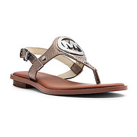 MICHAEL Michael Kors Aubrey Charm Sandals - Nickel