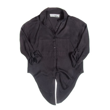 Thoreau Top In Washed Silk