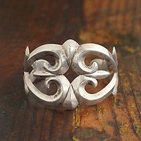 Free People  Vintage Silver Cuff Bracelet at Free People Clothing Boutique