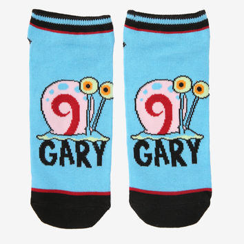 SpongeBob SquarePants Gary No-Show Socks