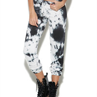 Tie Dye Active Pant | Wet Seal