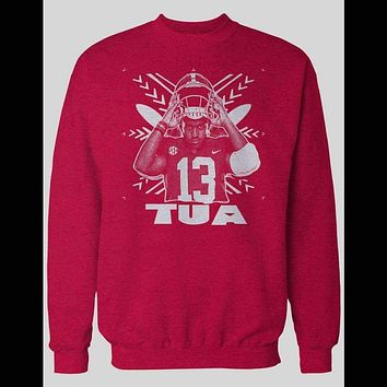 TUA TAGOVAILOA HAWAIIAN TRIBAL ART SWEATER