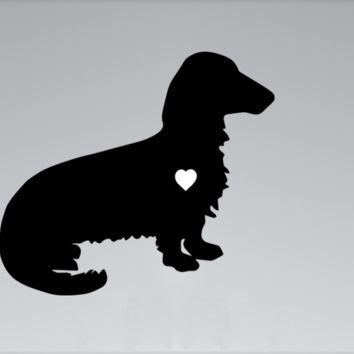 Dachshund MacBook Decal A