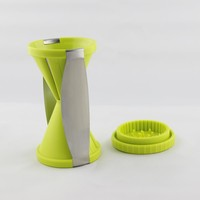Vegetable slicer chopper spiral twister cutter kitchen spiral slicer Kitchen Tools spirelli
