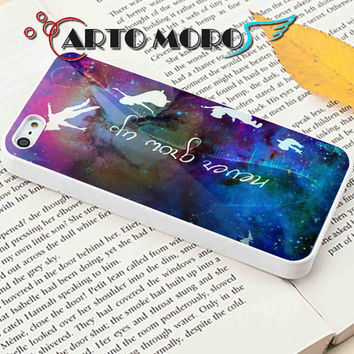 Design Peter Pan Quotes, Never Grow Up - iPhone 4/4S Case, iPhone 5/5S Case, iPhone 5C Case and Samsung Galaxy S3 i9300 Case, S4 i9500 Case.