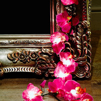 Orchid Fairy Lights in Purple UK Plug - Urban Outfitters