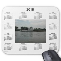 2016 River Boat Calendar by Janz Mouse Pad