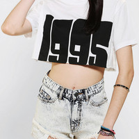Urban Outfitters - Blackstone 1995 Cropped Tee