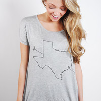 Lone Star Scoop Tee