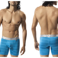 51365 Microfiber Boxer Color Turquoise
