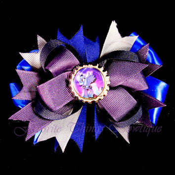 My Little Pony Princess Luna Hair Bow with Bottle Cap