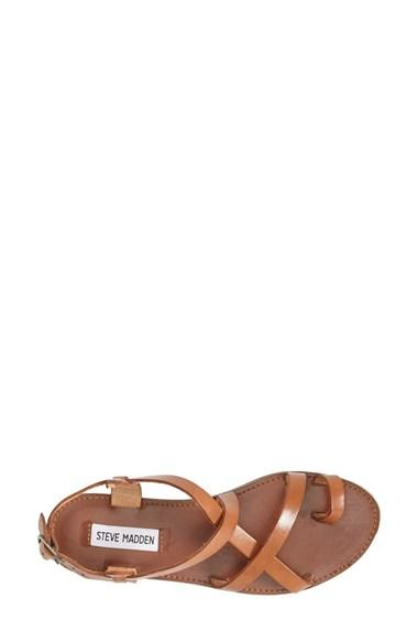 95df4c57b467 Women s Steve Madden  Agathist  Leather Ankle Strap Sandal