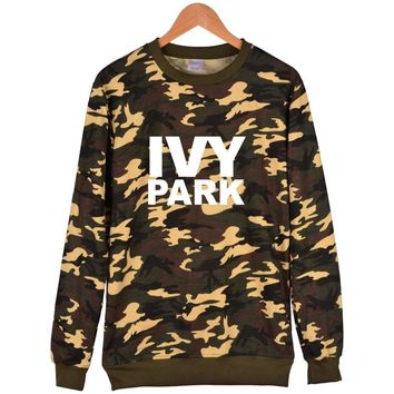 Beyonce Camouflage Hoodie Men With Depth/shallow khaki Color And Ivy Park Fashion Clothes Beyonce Hoodies And Sweatshirts women