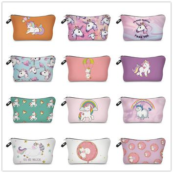 unicorn pencil case Anime estuche escolar Kawaii kalem kutusu astuccio scuola pencilcase pencil box papelaria material escolar