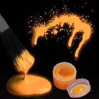 Glow in the Dark Body Paint (By The Color) (Orange)