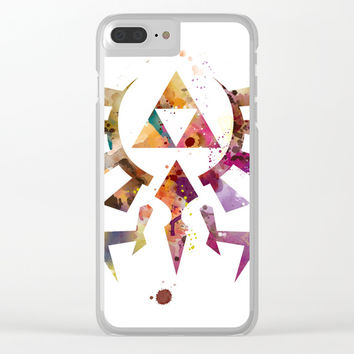 Zelda Clear iPhone Case by monnprint