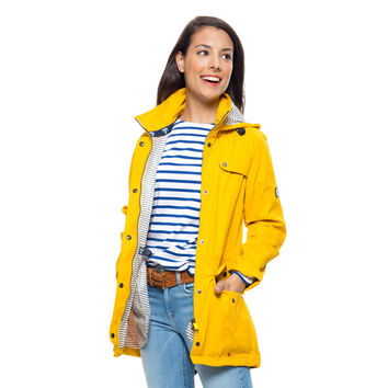 Barbour® Yellow Waterproof Trevose Jacket