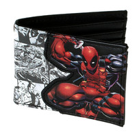 DEADPOOL Comic Bi-Fold WALLET