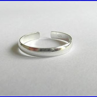 sterling silver toe ring with free shiping