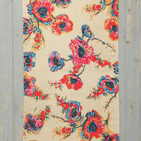 Plum & Bow Ikat Floral Rug - Urban Outfitters