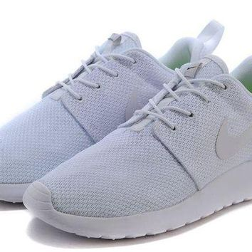 ONETOW Womens Nike Roshe Run Id 2015 511881 115 All White - Ready Stock Online