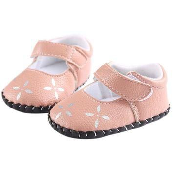 ROMIRUS Cute Newborn Baby Kids Toddler Girls Princess Soft Sole Shoes Sneakers