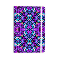 """Art Love Passion """"Kaleidoscope Dream Continued"""" Purple Pink Everything Notebook"""