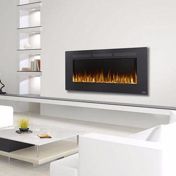 Napoleon Allure 50 NEFL50FH Wall Hanging or Recessed Electric Fireplace
