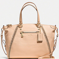 COACH PRAIRIE SATCHEL IN WHIPLASH LEATHER | Dillards.com