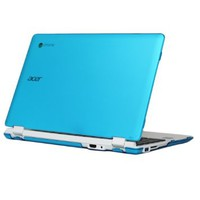 "iPearl mCover Hard Shell Case for 11.6"" Acer Chromebook 11 CB3-111 series ( NOT compatible with newer Acer CB3-131 series with IPS HD screen ) Laptop (Aqua)"