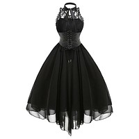 Gothic Gala Gown